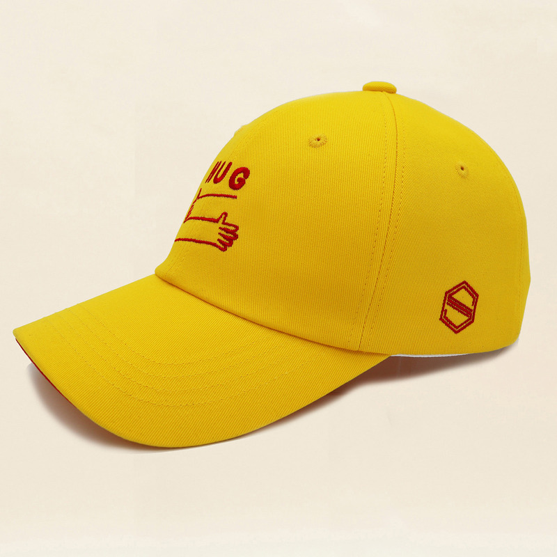 HUG - RED YELLOW COLOR BALL CAP