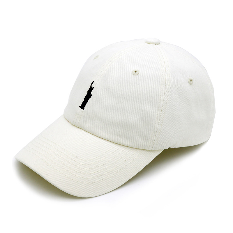 SOL(Statue of Liberty) WSHD - IVORY COLOR BALL CAP