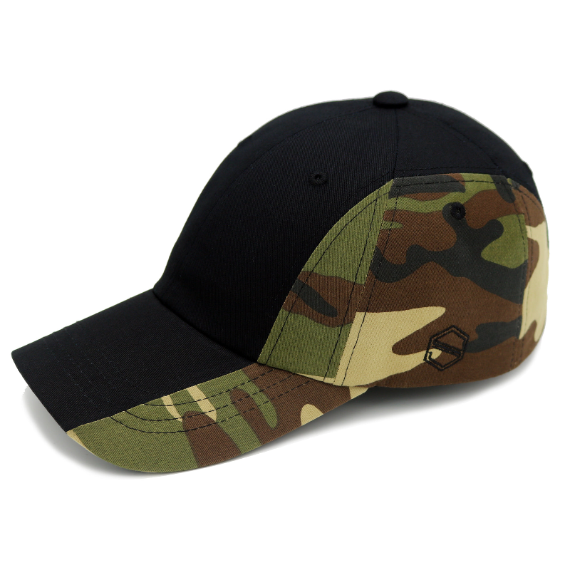 XIX_REVERSE - BLACK CAMOU COLOR BALL CAP